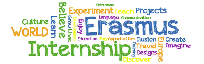 Znalezione obrazy dla zapytania erasmus plus internship