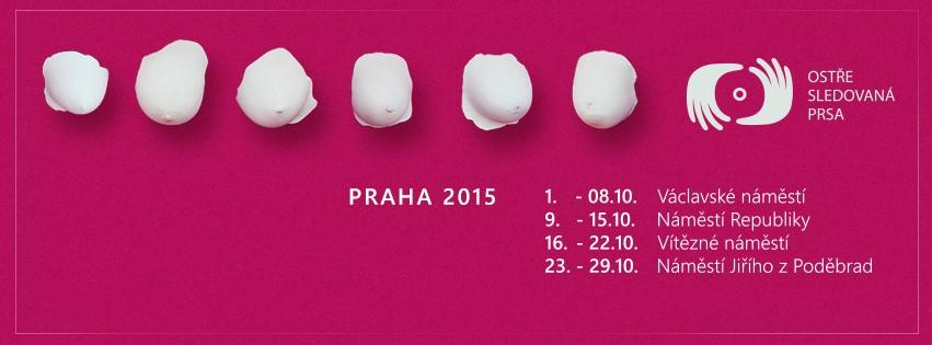 Prag Göğüs Kanseri Farkındalığı
