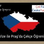 ÇekTürk'ten Yepyeni : Vize ile Uzun Dönem, Yoğun Çekçe Kursları