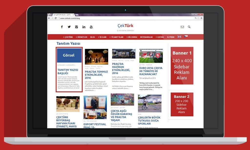 Yepyeni: ÇekTürk Reklam Açıldı!