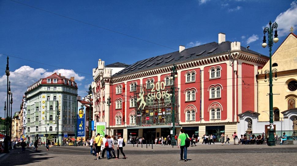 Prag'da Alışveriş Merkezleri