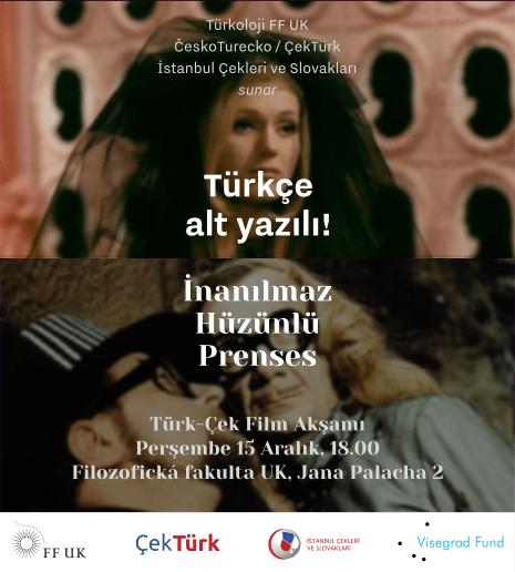 ÇEKTÜRK ÇEK FİLM GECESİ: Šíleně smutná princezna