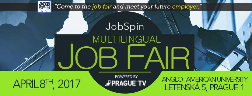 Prag İş Fuarı ve İş Fırsatları, 8 Nisan 2017