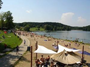 1 Hostivař reservoir-prag lakes for swimming