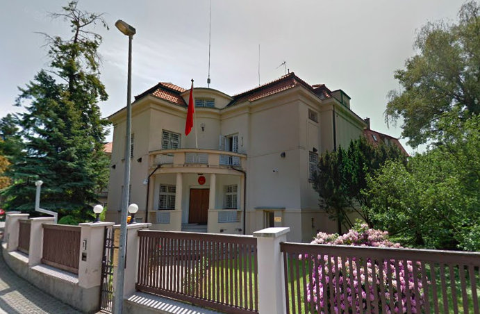 Prag T.C. Büyükelçiliği İletişim