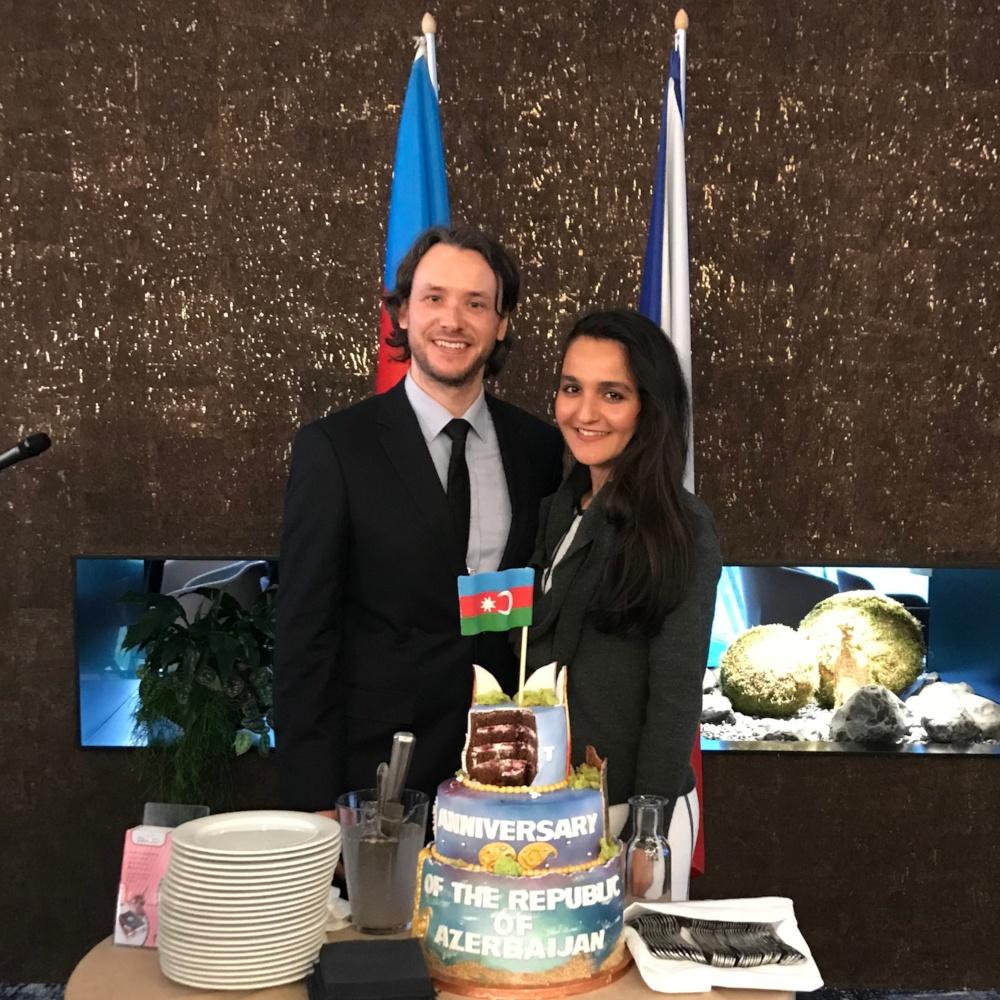 Prag'da Azerbaycan Cumhuriyet Bayramı Resepsiyonu