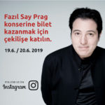 Fazıl Say Prag Konser Bileti Çekilişi