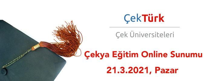 ÇekTürk Çekya Eğitim Sunumu 21 Mart 2021